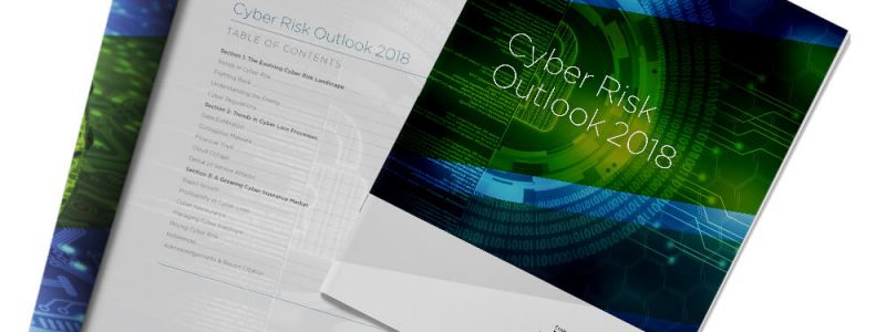 Front Cover of CRS Cyber Risk Outlook 2018