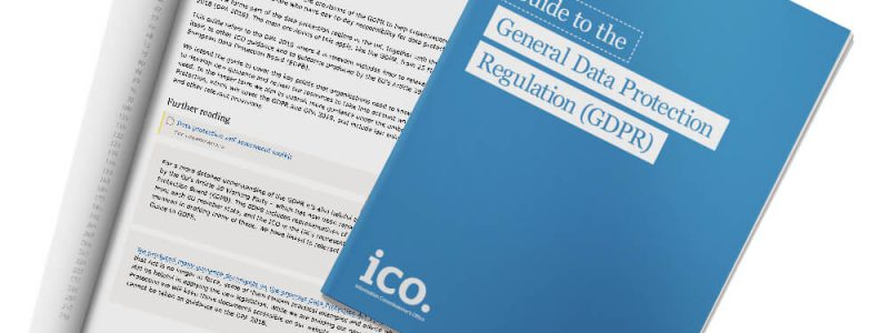Front cover of Guide to the General Data Protection Regulation (GDPR)