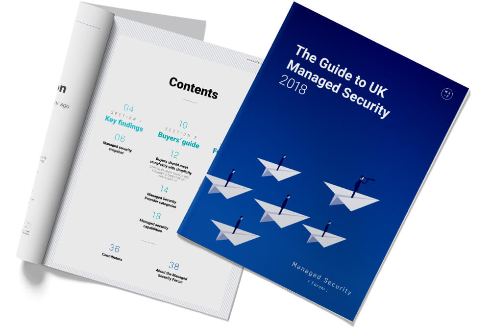 Preview of The Guide to UK Managed Security 2018