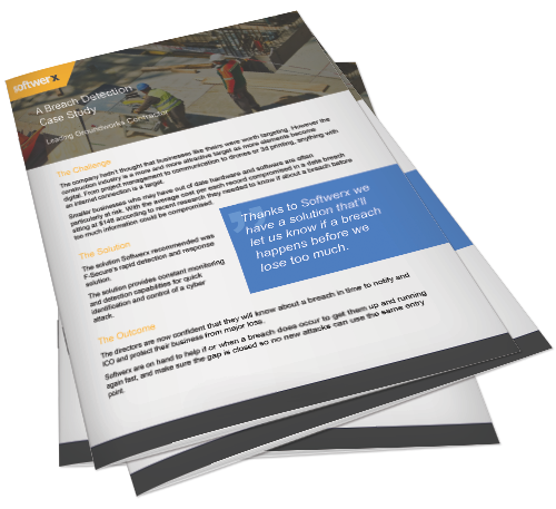 Preview of breach detection in the construction sector case study