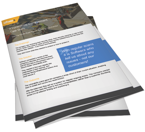 Preview of vulnerability management in the construction sector case study