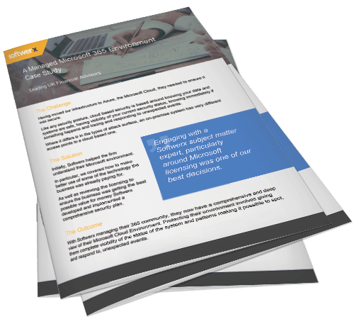 Preview of managed microsoft 365 in the finance sector case study